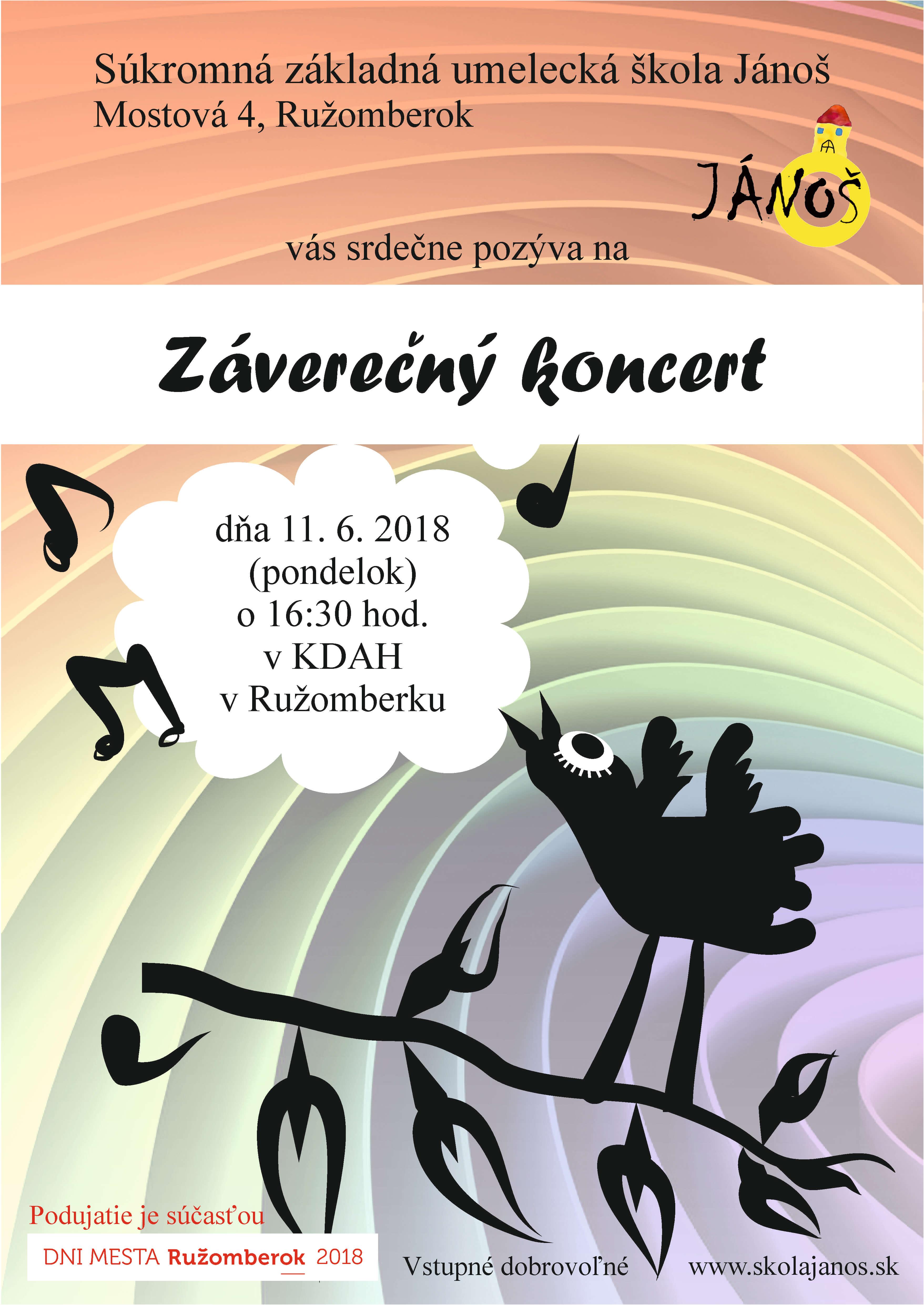 Záverečný koncert 2