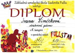 Fullstar 2017_strieborne pasmo_Simcekova