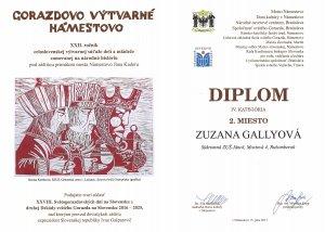 VO diplom Gorazdovo N Gallyova