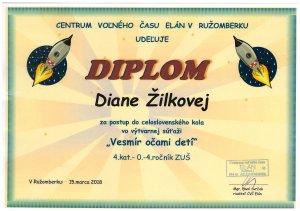 vesmir Diana Zilkova LO